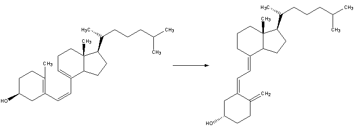 Reaction-PrevitaminD3-VitaminD3